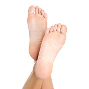 svettiga händer och fötter