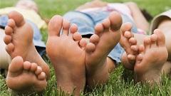 kall och svettig om fötterna